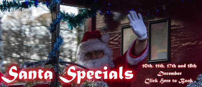 Santa Specials at the Apedale Valley Light Railway